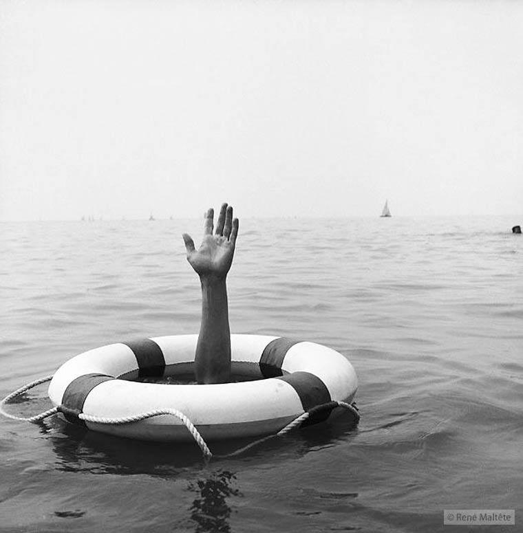 Fotografía irónica y absurda de René Maltête