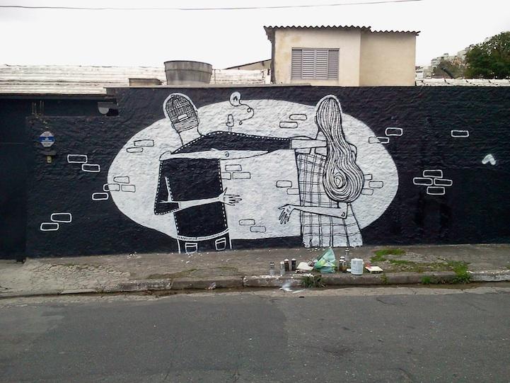 Street art bisous - 06