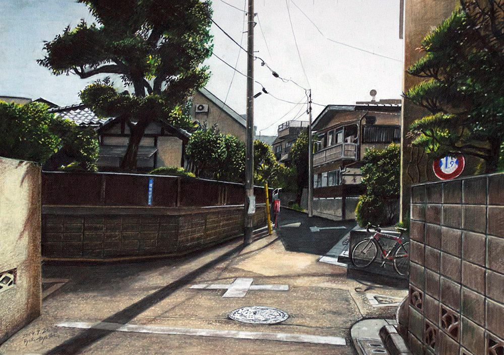illustrations of tokyo by ryota 11