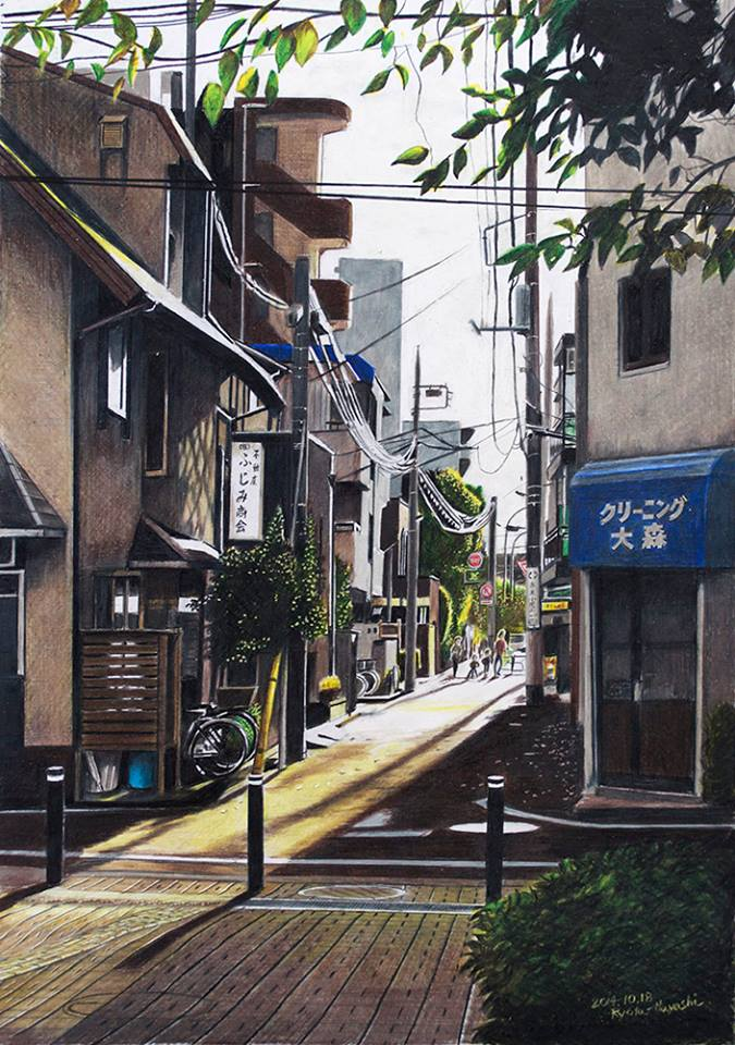 illustrations of tokyo by ryota 5