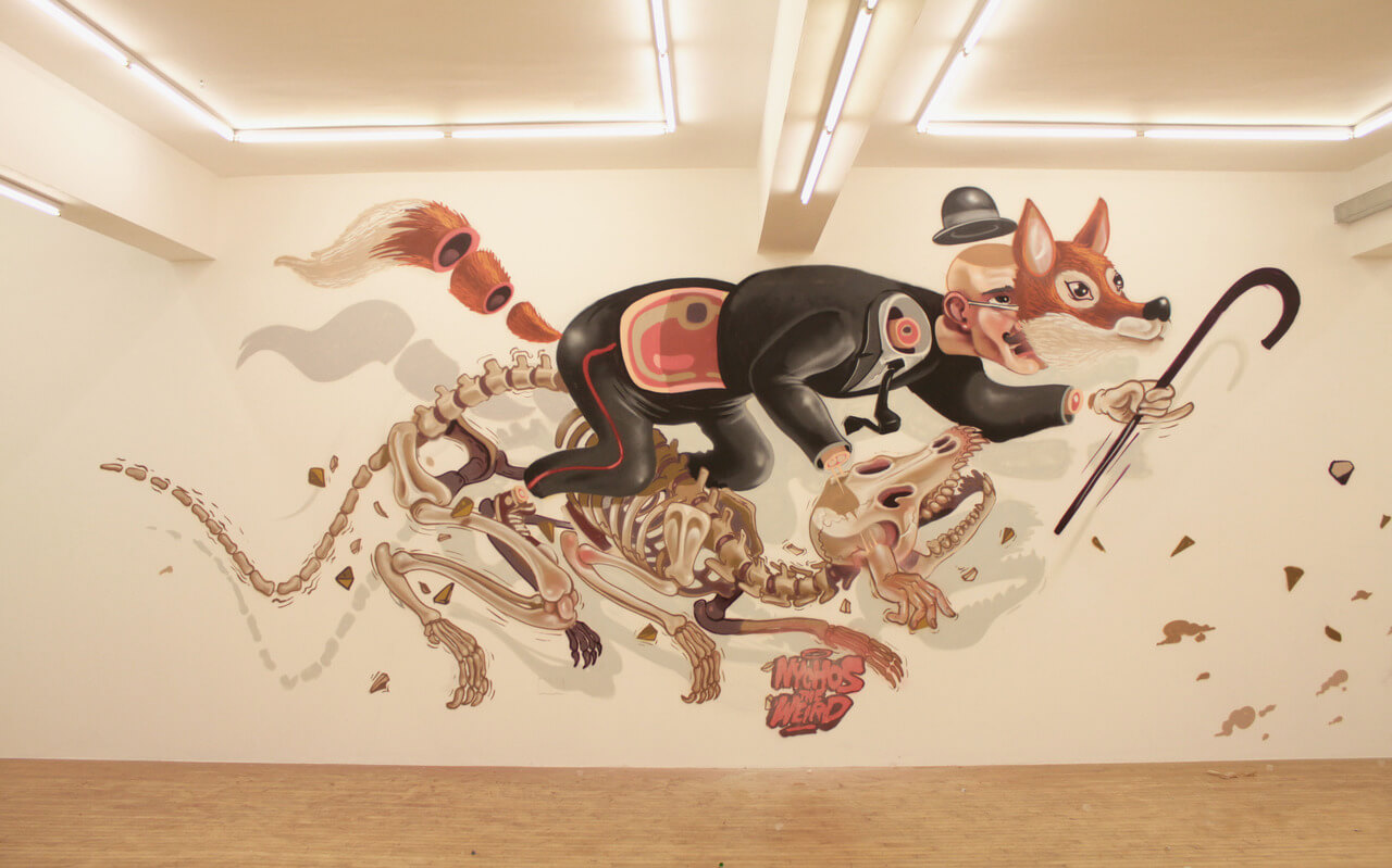 nychos street art illustration 1