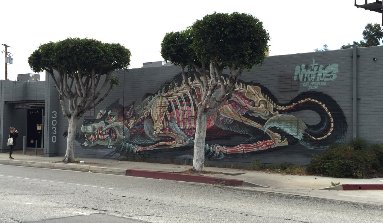 nychos street art illustration 3