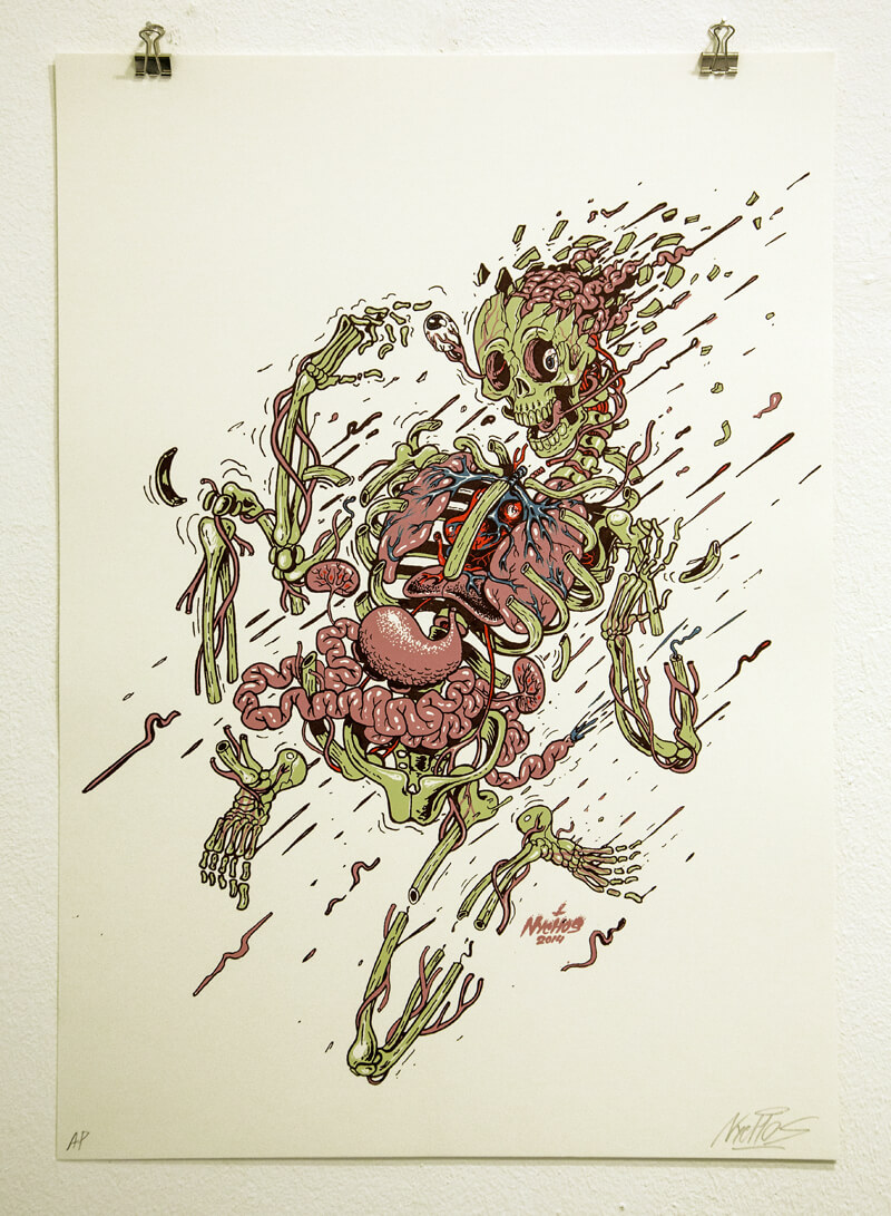 nychos street art illustration 7