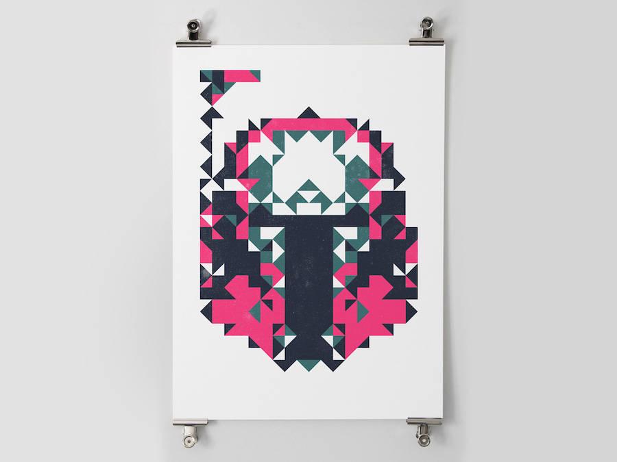 star wars polygon posters 3