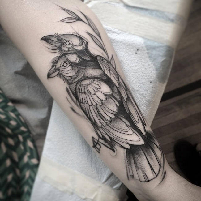 Adorable Sketchbook-Style Tattoos by Canadian Artist Naomi Chi (8)