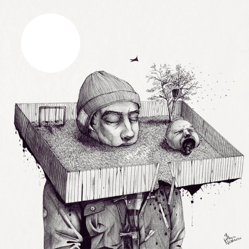 Remarkable Illustrations by Slava Triptih (2)