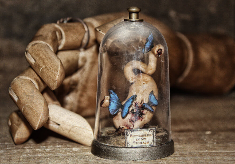esculturas en miniatura grotescas oldskull 4