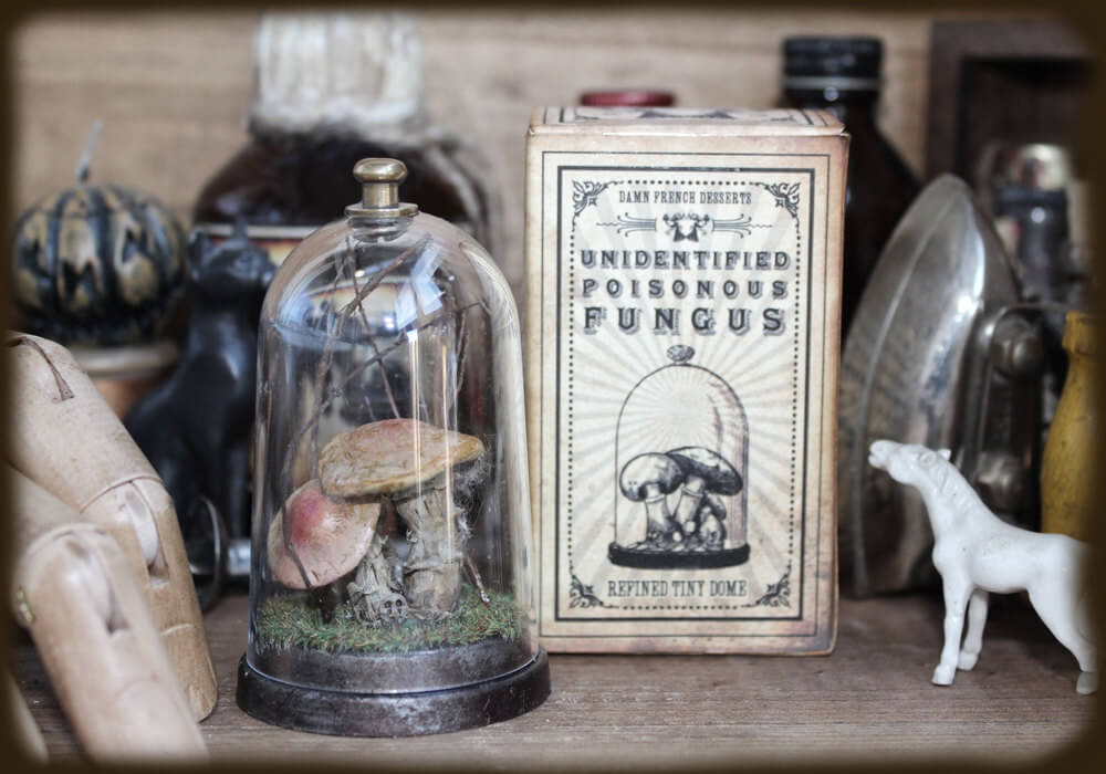 esculturas en miniatura grotescas oldskull 8