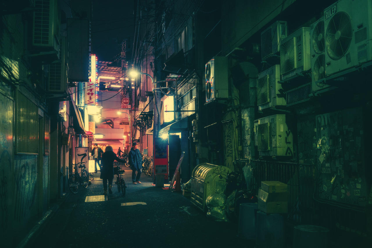 Masashi Wakui photography tokyo night oldskull 1