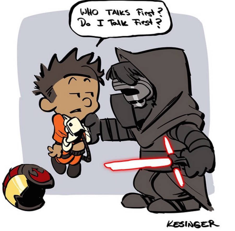 Star Wars Meets Calvin and Hobbes Comics  (4)