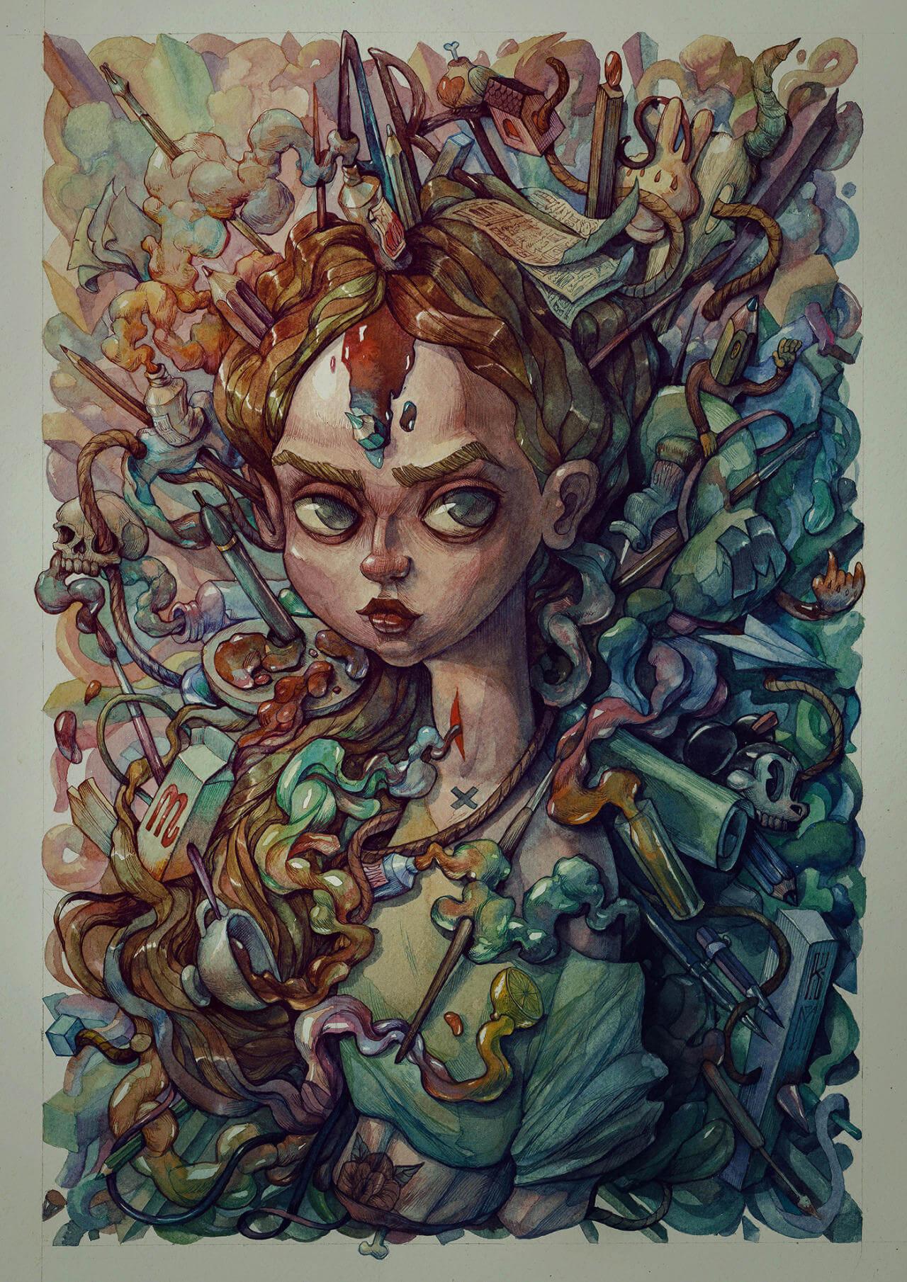 marija tiurina illustration 9