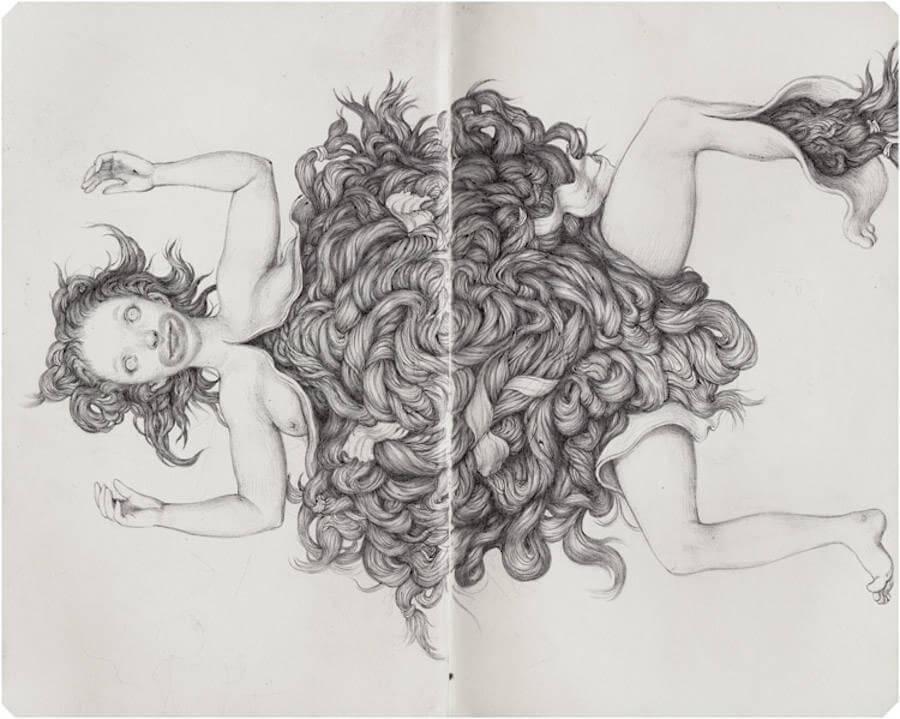 Detailed Drawings with Strange Characters by Anton Vill (7)
