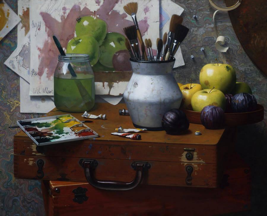 will wilson paintings oldskull 10