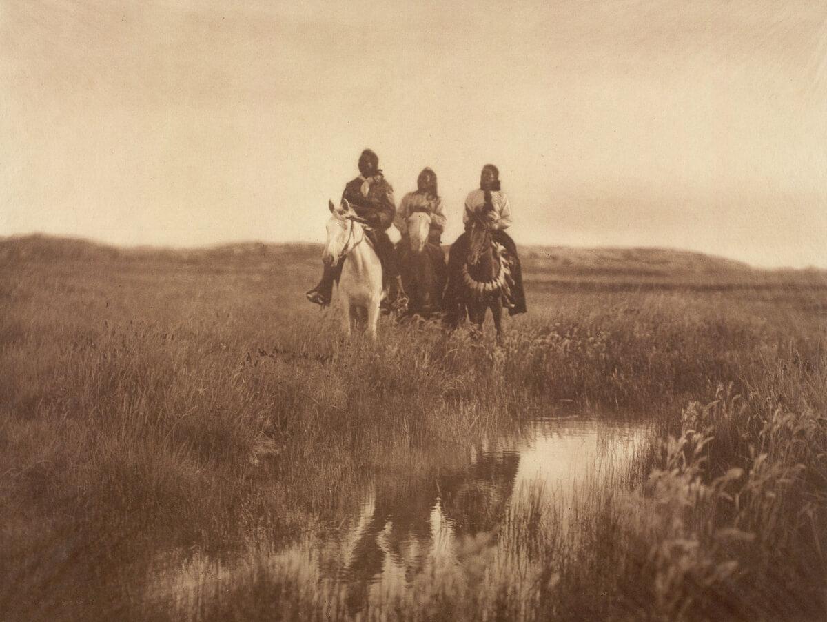 Indios nativos americanos Sioux