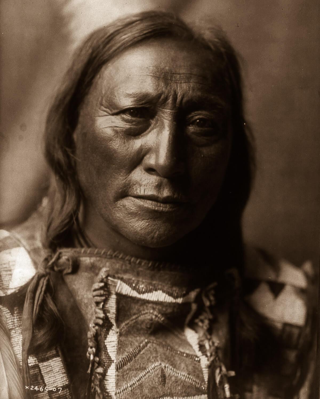 Retrato de Indio nativo americano Gerónimo