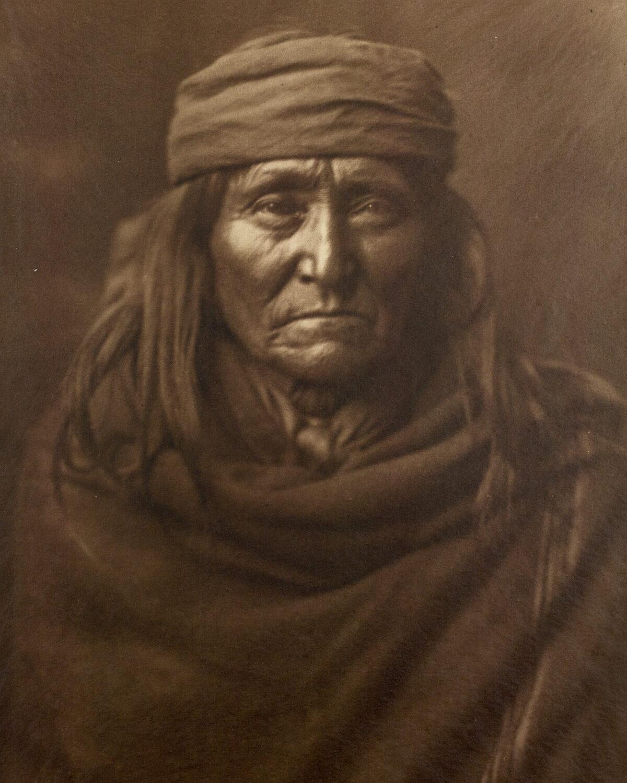 Indio nativo americano Eskadi - Apache
