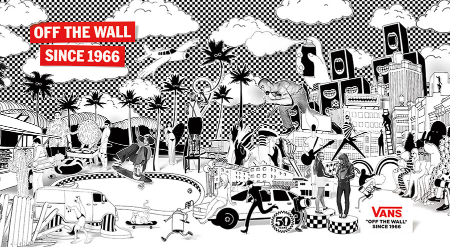 The Story of Vans_Collage