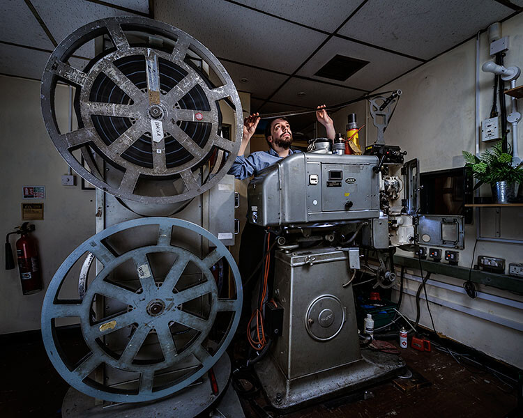 From the series 'The Projectionists' by Richard Nicholson. Copyright © Richard Nicholson, 2016. Mobile: +44 (0)7958 945 446 Email: mail@richardnicholson.com Website: www.richardnicholson.com