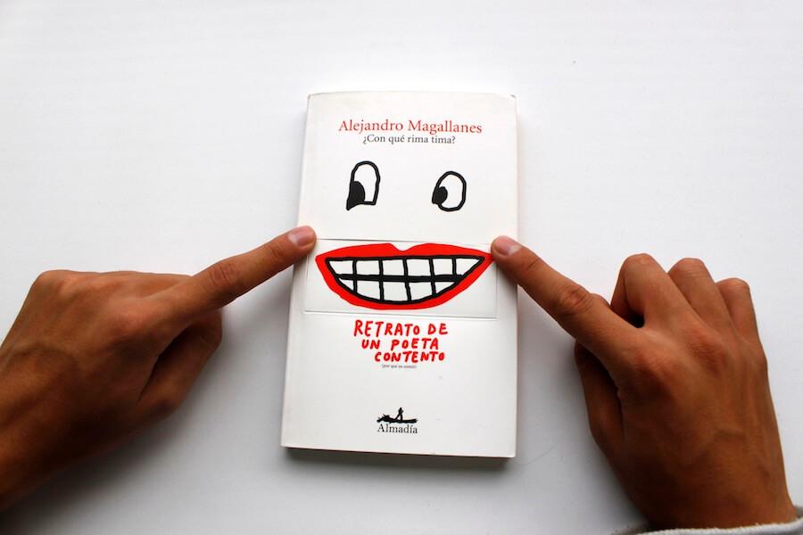 Retrato de un poeta contento de Alejandro magallanes