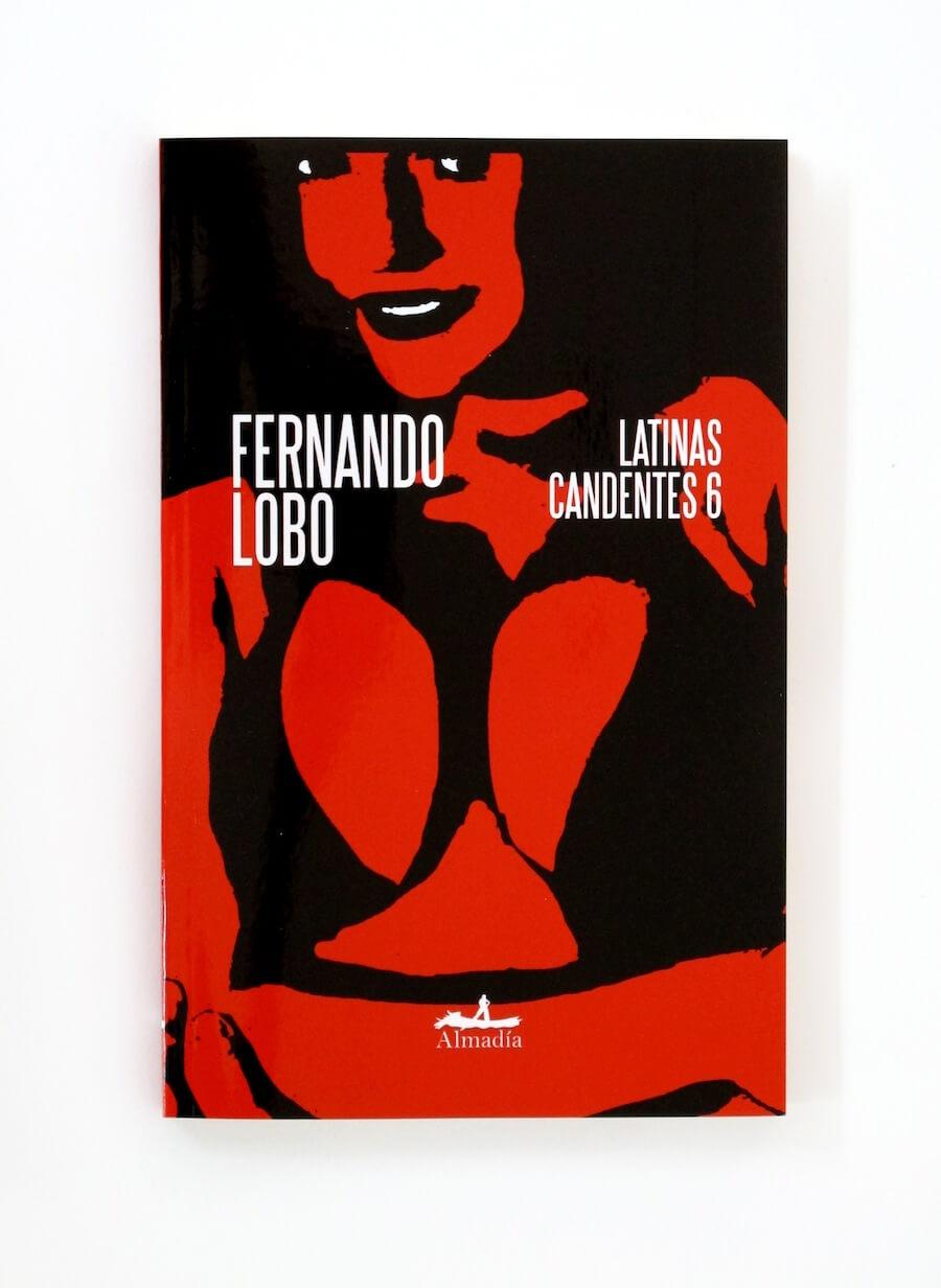 Portada de Latinas candentes ilustrador por alejandro magallanes