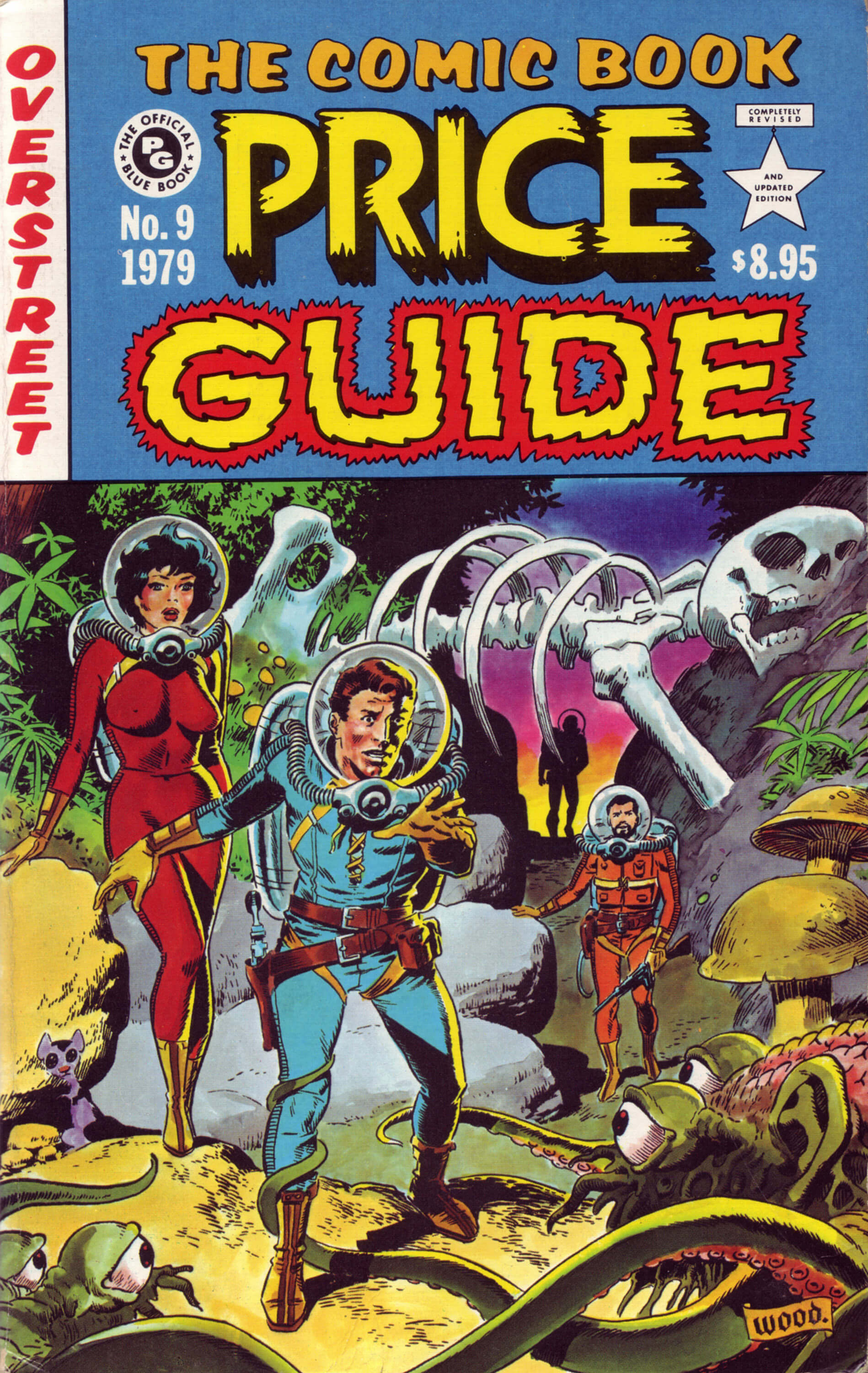 The comic book price guide wally wood