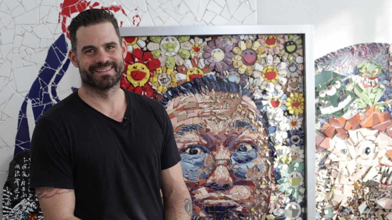 Jason dussault, maestro del mosaico