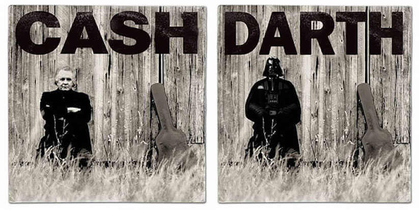 Cash cover by star wars