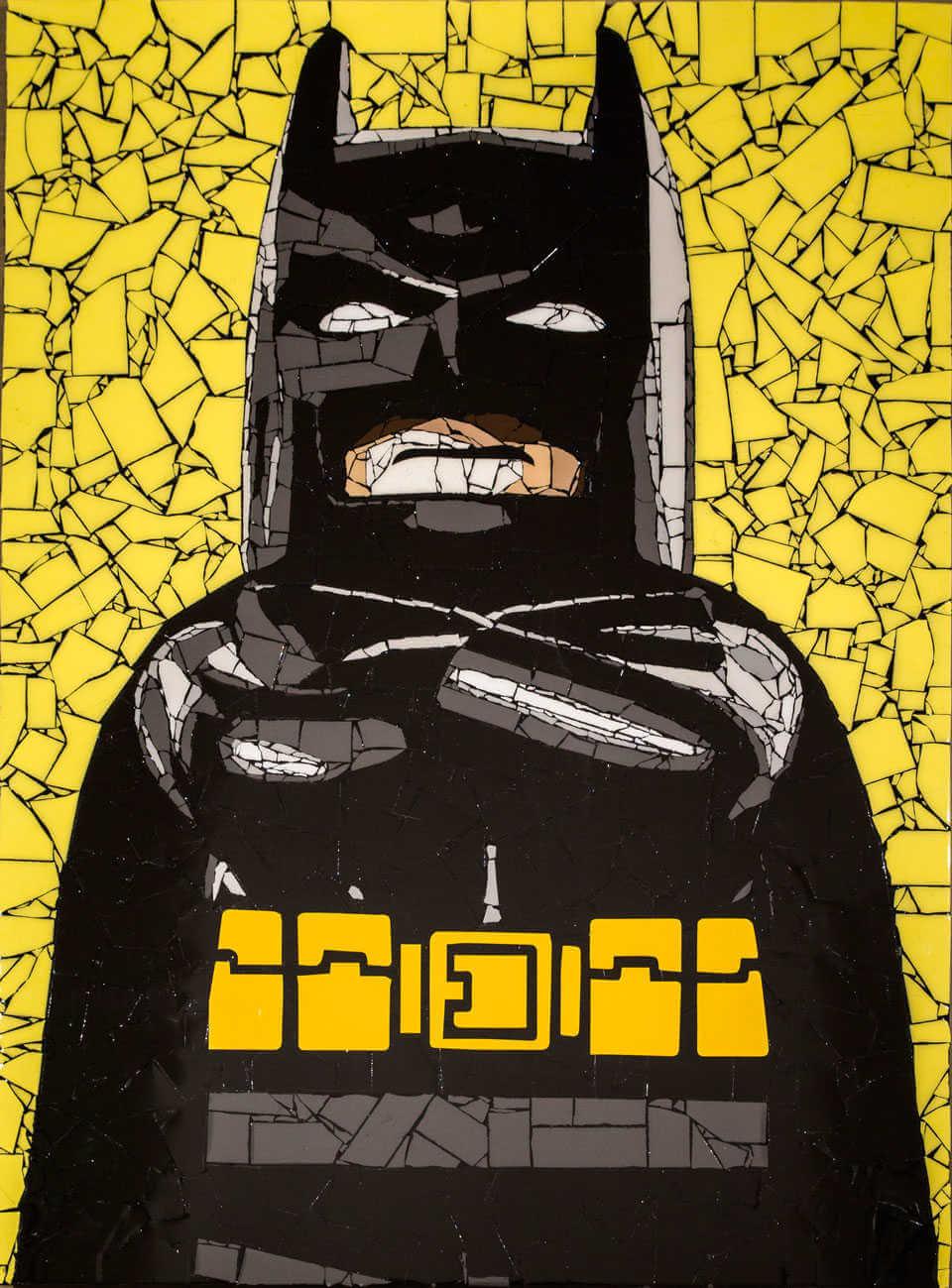 Mosaico de batman lego