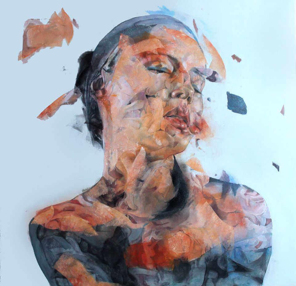 Pintura de descomposición de un cuerpo