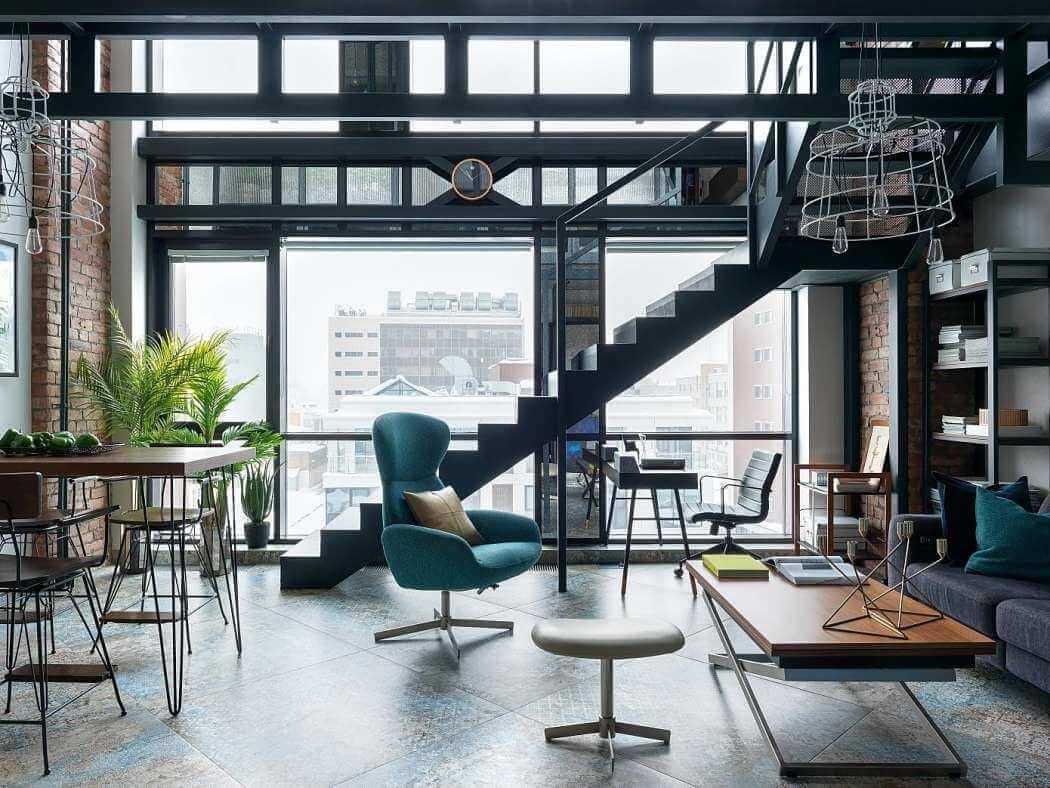 Apartamento tribeca diseño industrial