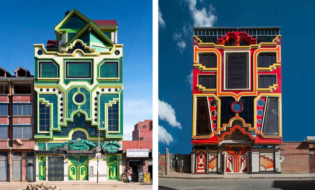 edificio de Freddy mamani en bolivia