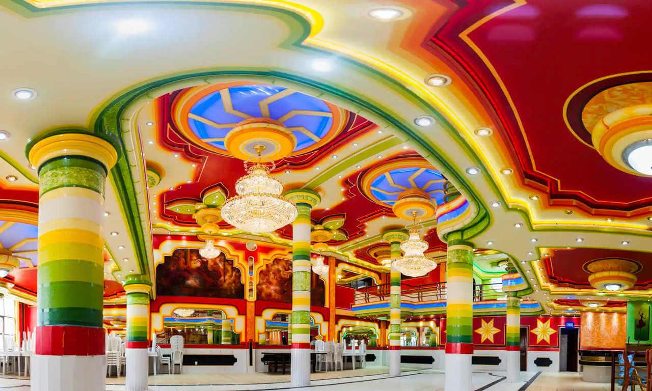 Freddy mamani arquitectura colorida