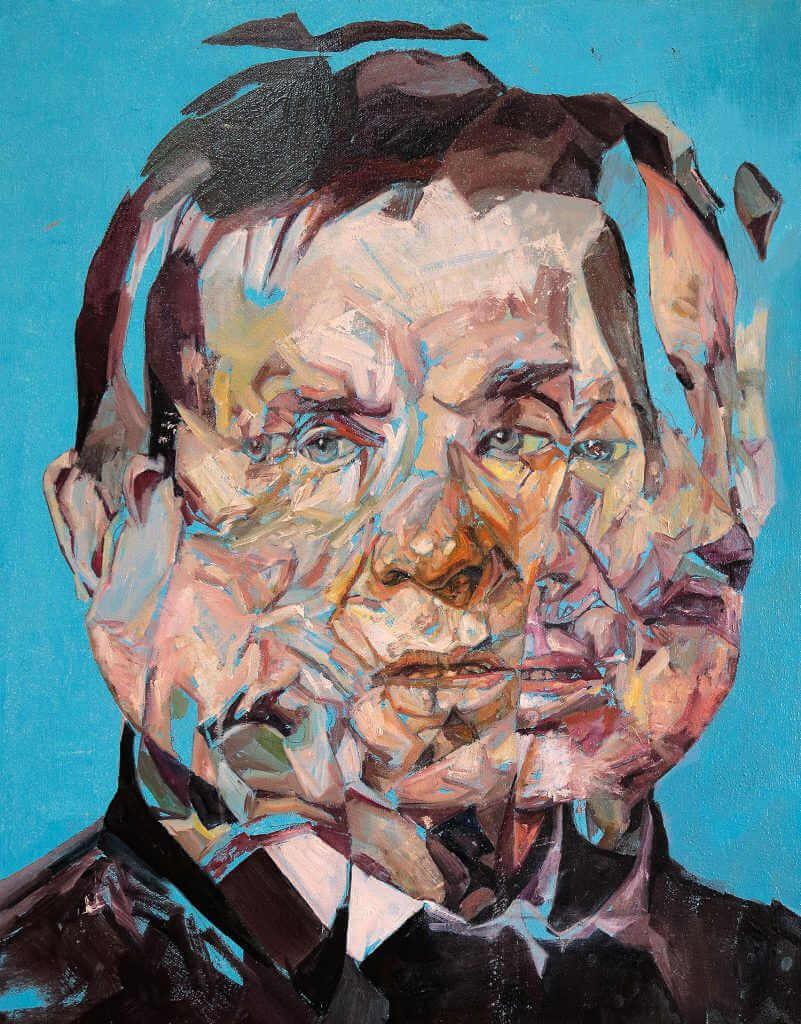 Mezcla de imágenes en la pintura de Benjamín García