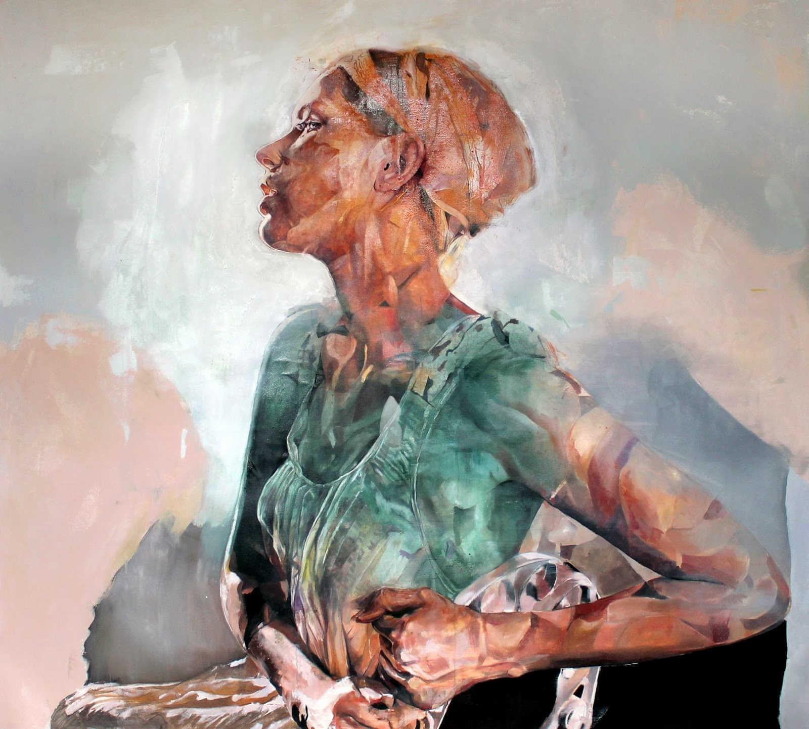 Benjamín garcia pintura abstracta