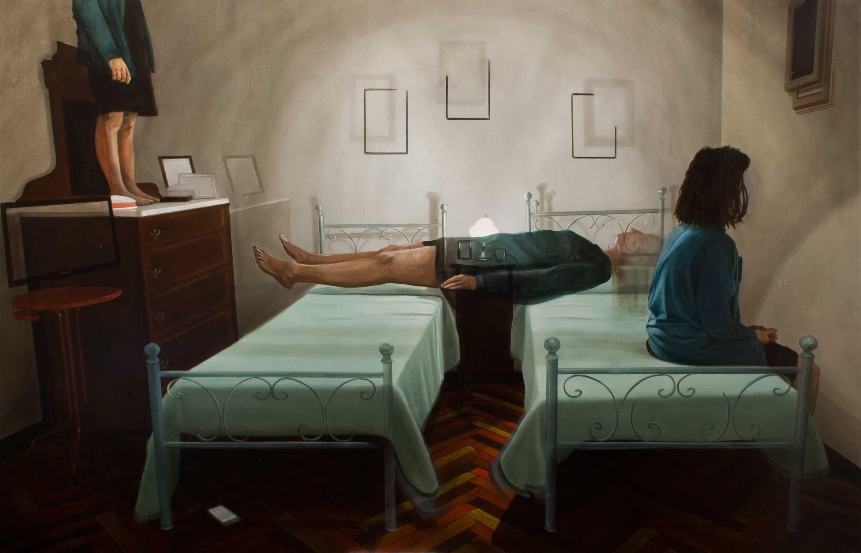 pinturas acrílicas de dario Maglionico