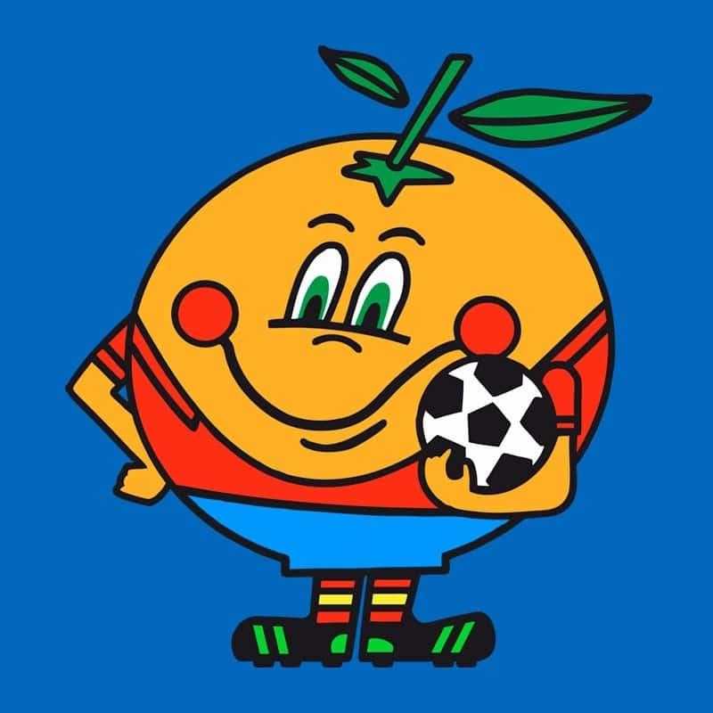 Naranjito, La mascota del Mundial 82 de fútbol