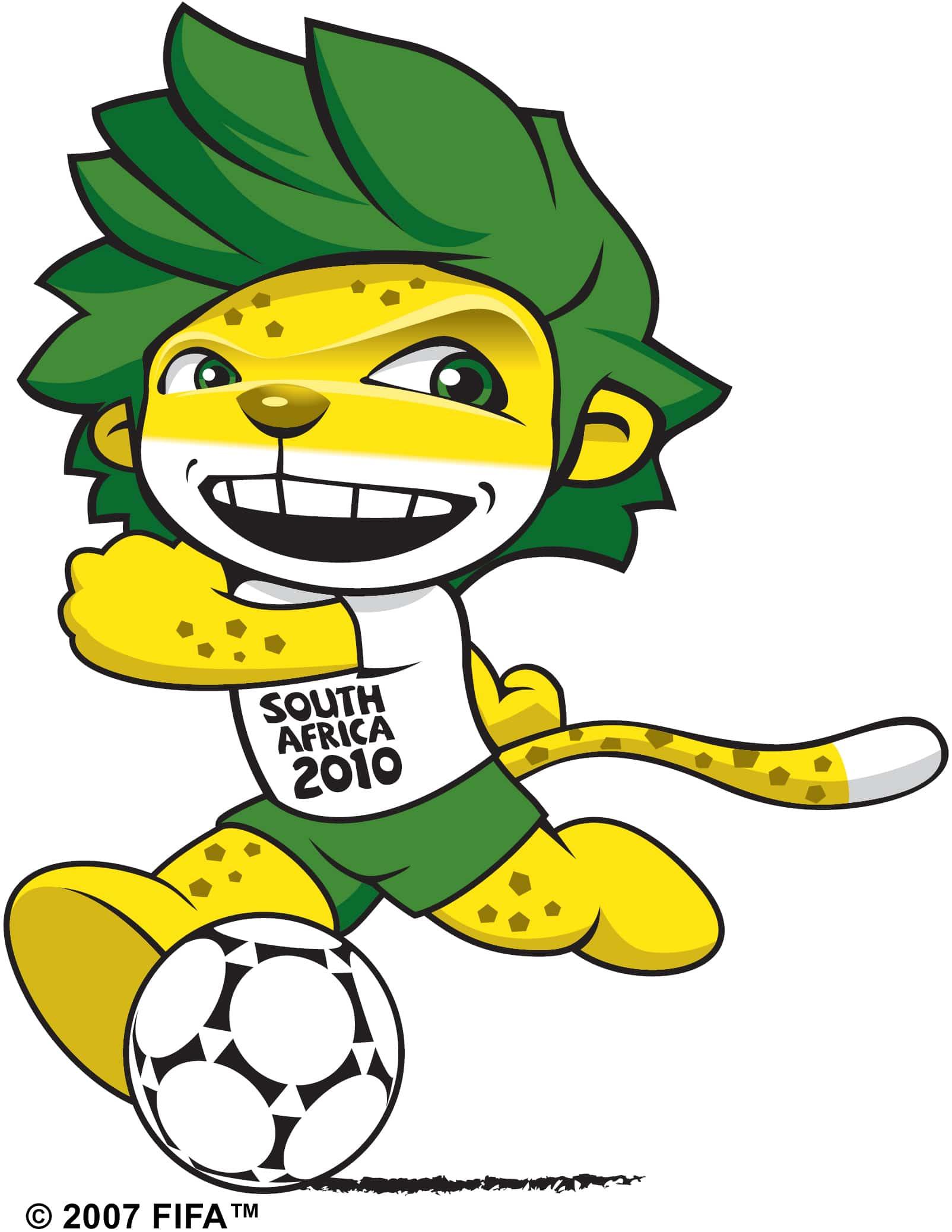 Zakumi. Mascota oficial de la Copa del Mundo de fútbol de Sudáfrica 2010