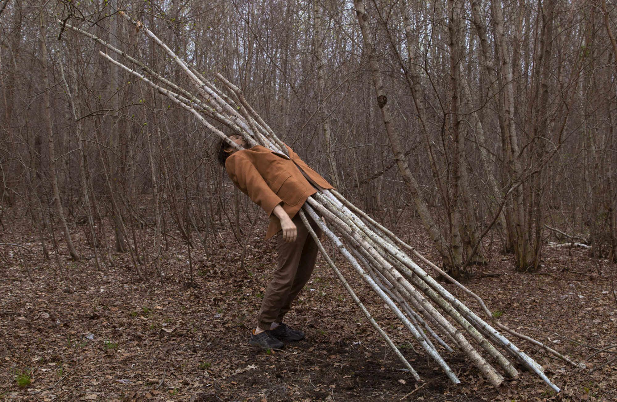 Fotografia e historias divertidas de Ben zak, el hombre arbol