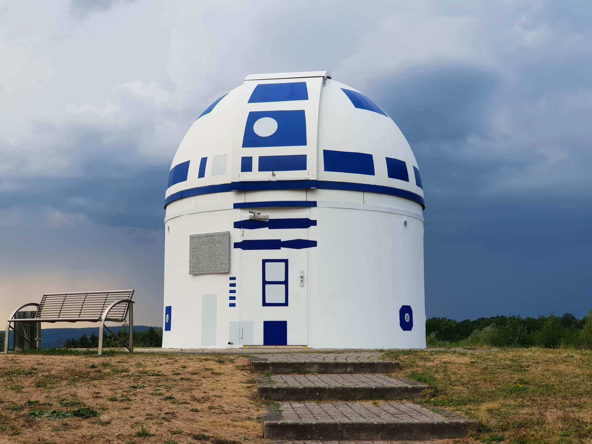 El auténtico observatorio galáctico | Street Art