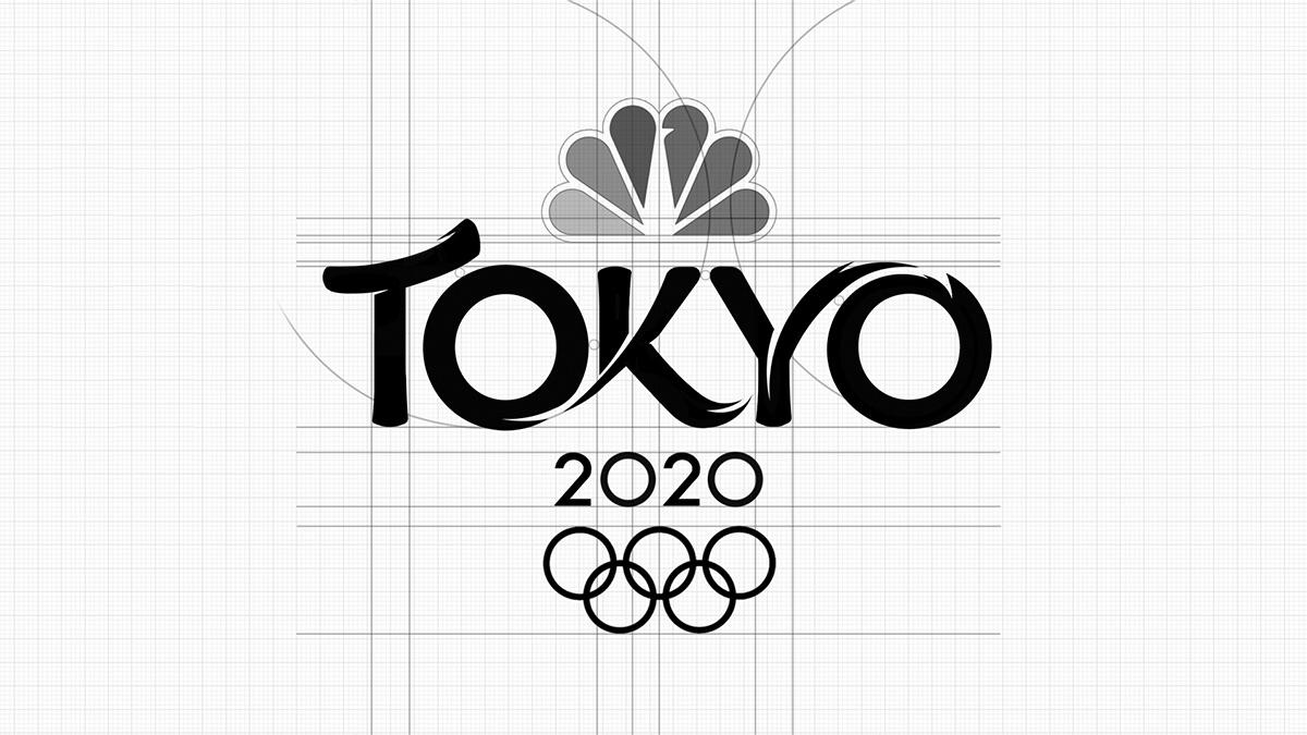 reticula logo tokyo 2020 nbc