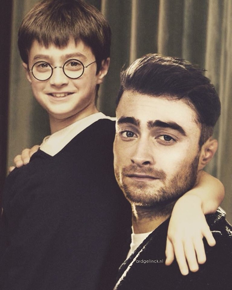 Harry potter joven