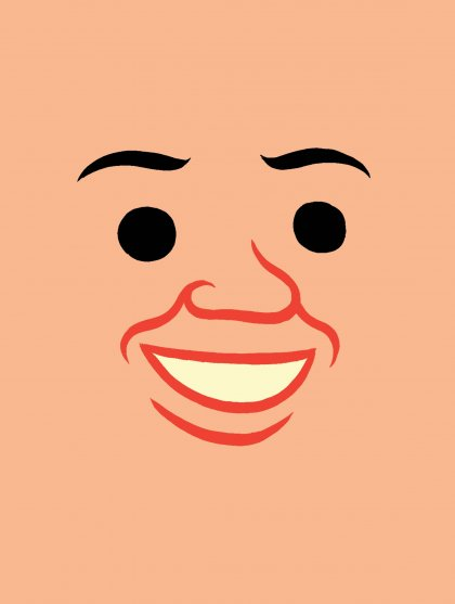 Joan cornella face logo