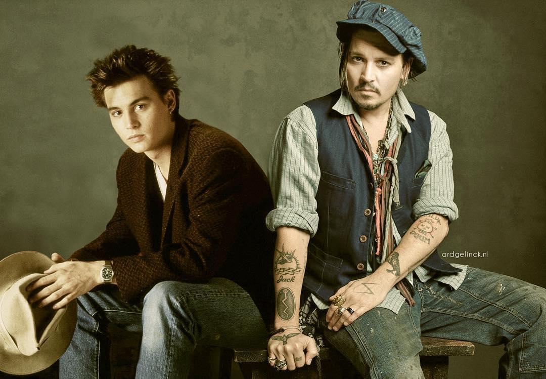Johnny Depp joven
