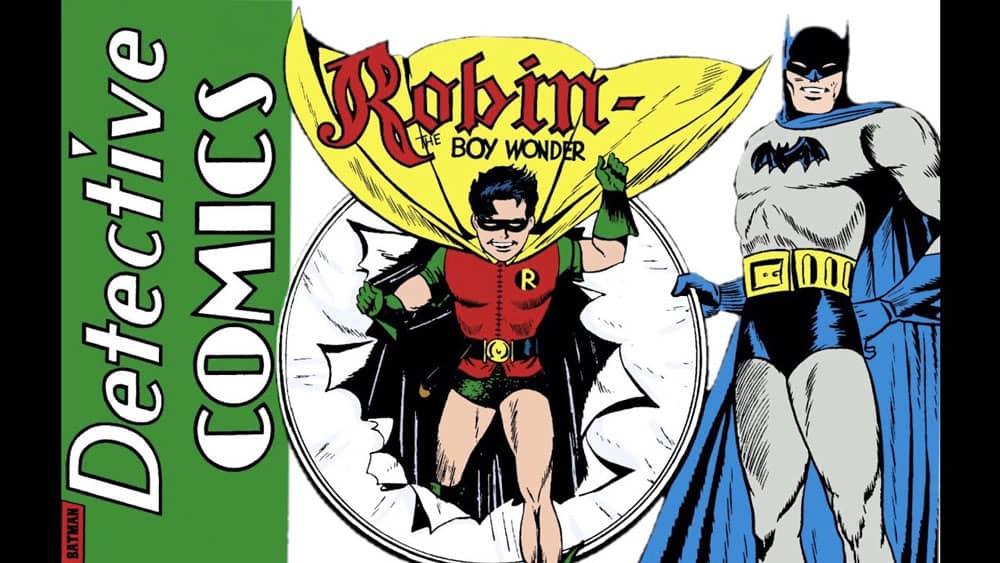 aparece robin en batman