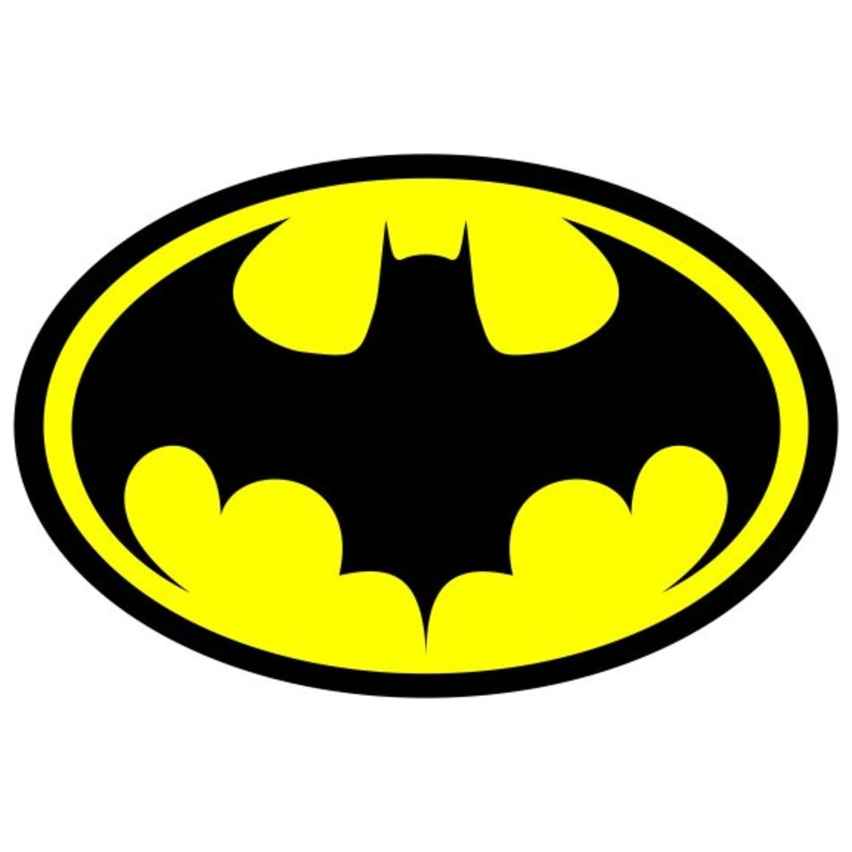 logotipo batman amarillo 1989