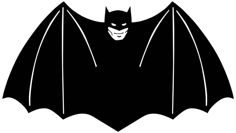 logo batman 1940