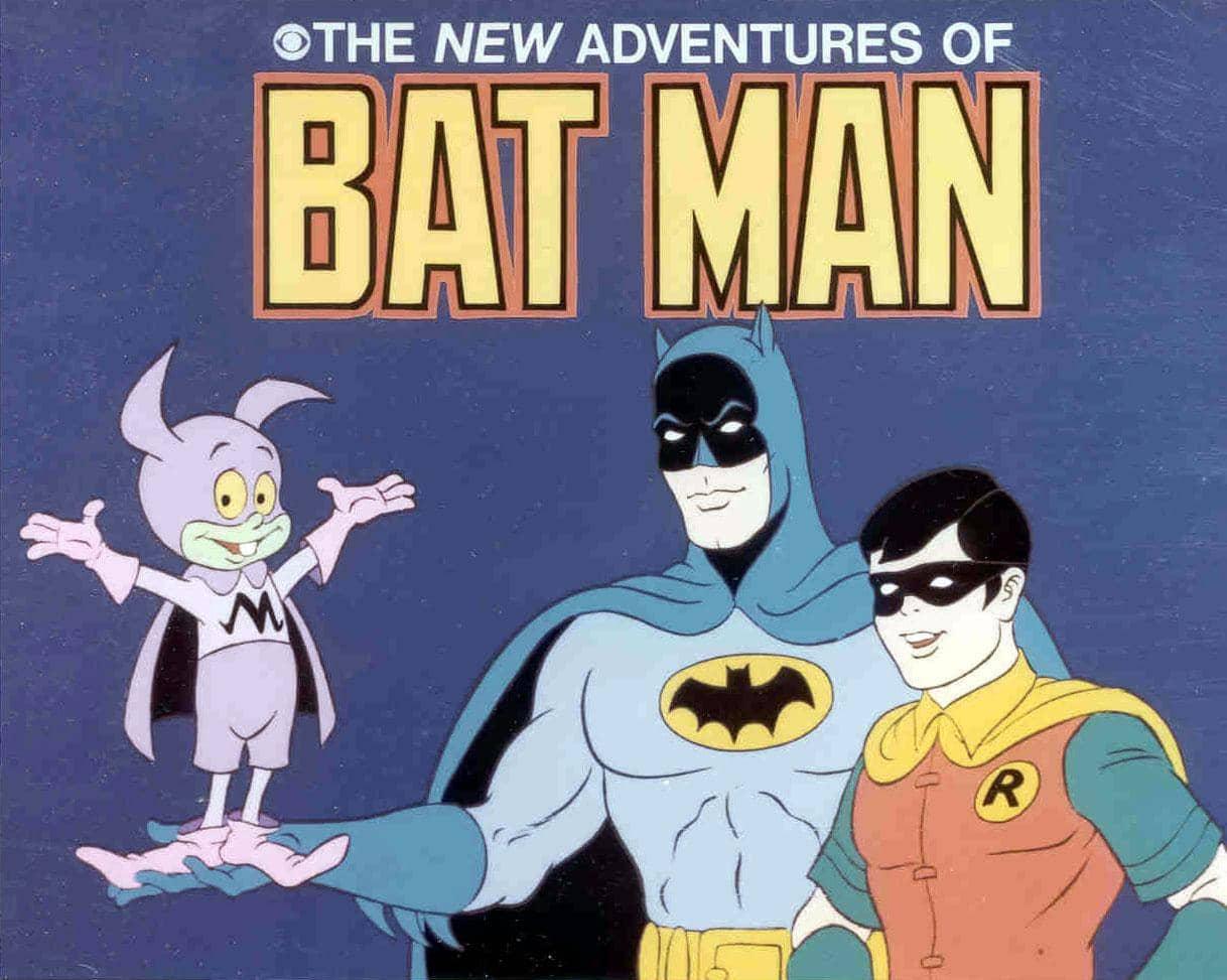 Batman y robin dibujos animados