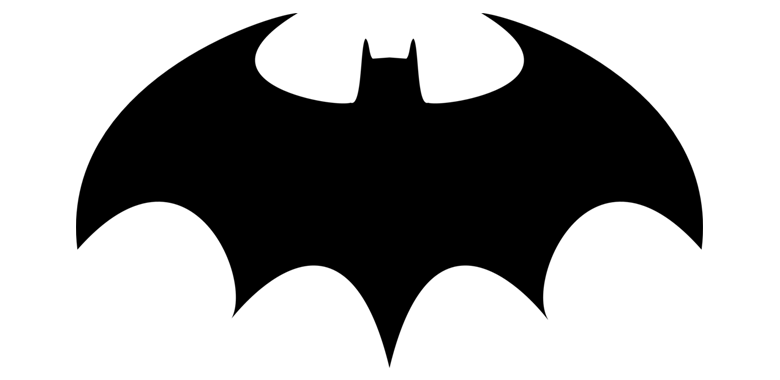 LOGO de batman en 1977