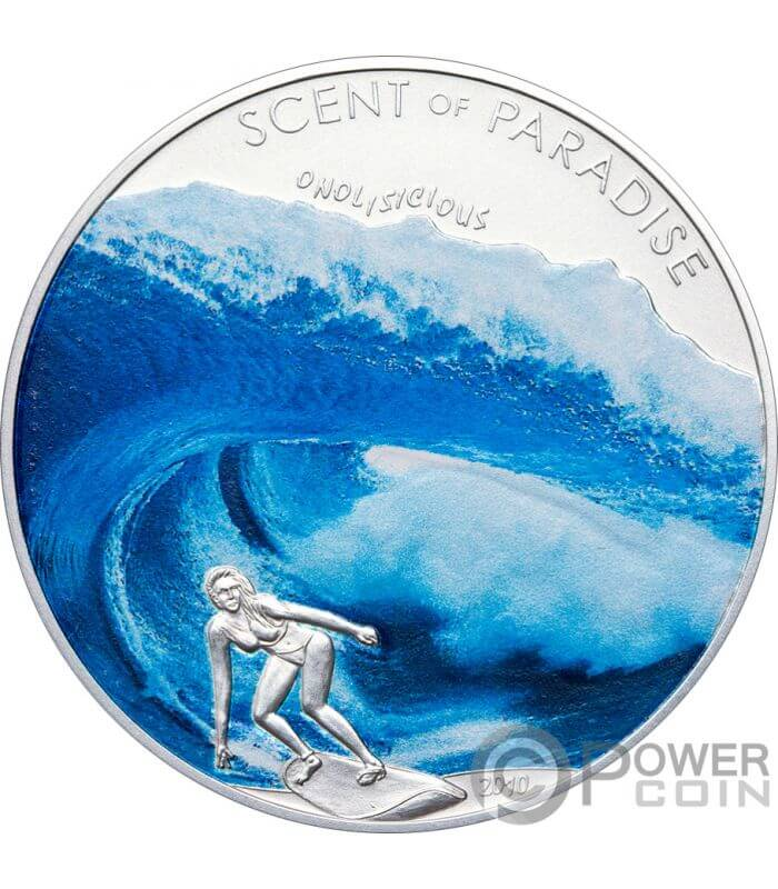 MOneda de ola de surf