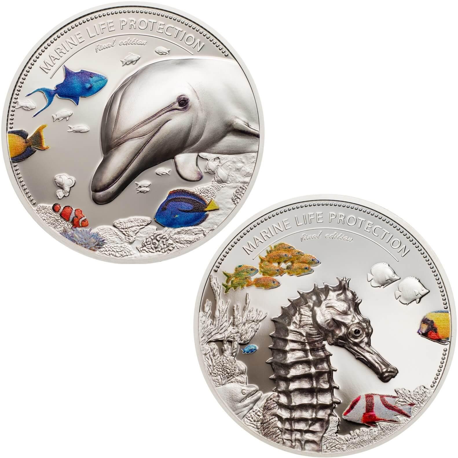 Moneda cuidado marino Palaus